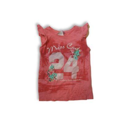 128-as rózsaszín számos póló - Dopodopo