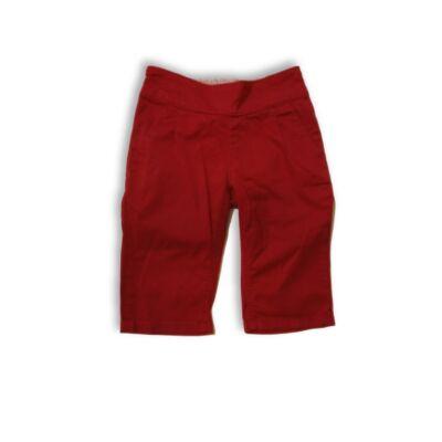 110-es piros vászon térdnadrág - H&M