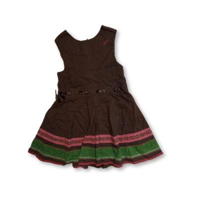 128-134-es barna vászonruha - Esprit