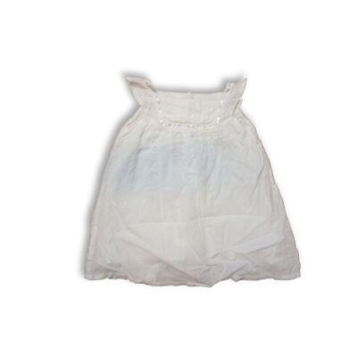 80-as fehér ujjatlan ruha