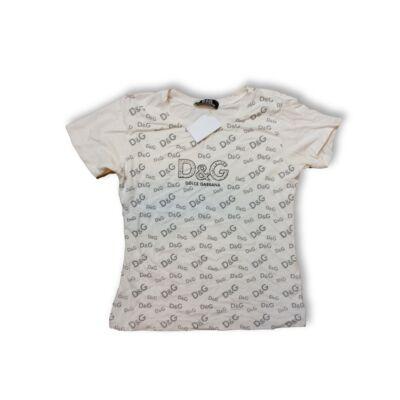 152-es fehér feliratos póló - Dolce & Gabbana