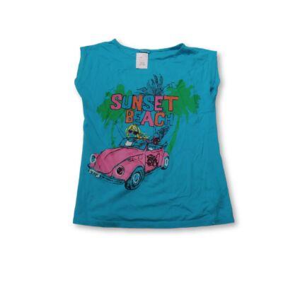 146-os kék autós lány póló - Cherokee
