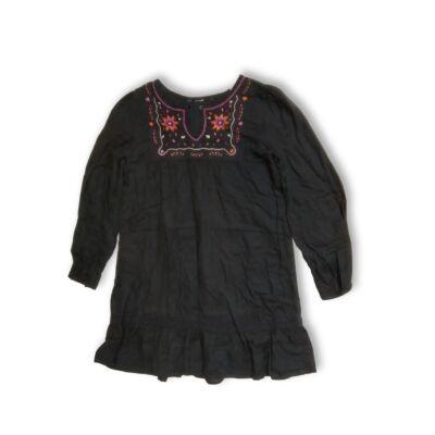 122-es szürke hímzett ruha - H&M