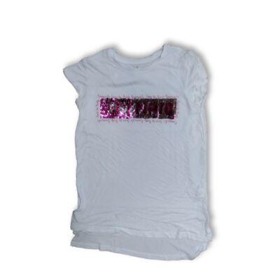 152-es fehér átfordítós simogatós póló - Young Dimension