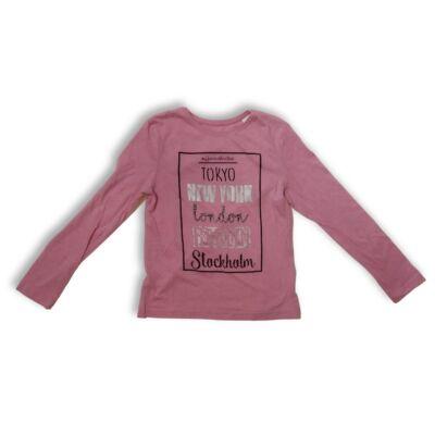 146-os rózsaszín feliratos pamutfelső - Young Dimension