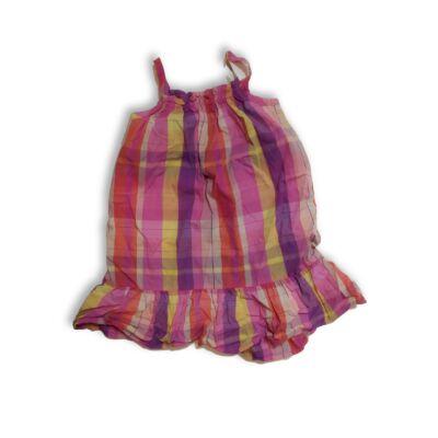 104-es rózsaszín kockás ruha