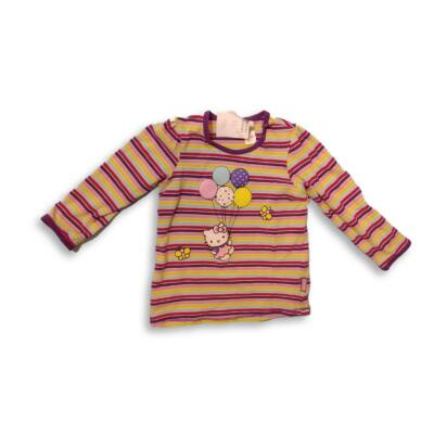 86-os lila csíkos pamutfelső - Hello Kitty - H&M