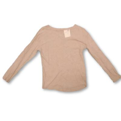 146-152-es rózsaszín pamutfelső - H&M