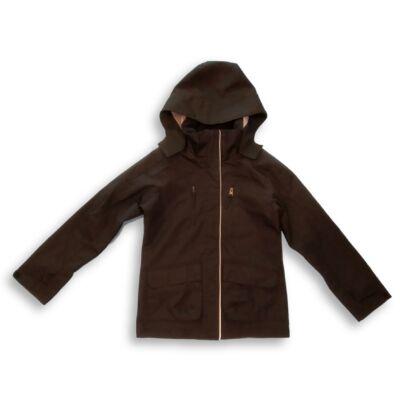 146-os fekete átmeneti kabát lánynak - Outwear by Lindex