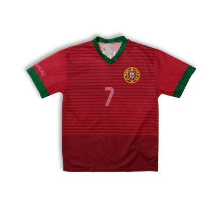 Férfi M-es piros mez - Ronaldo