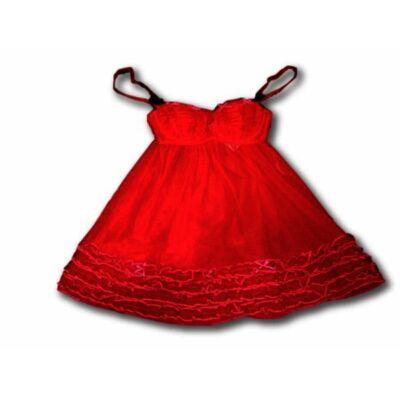 Női S-es piros babydoll - H&M