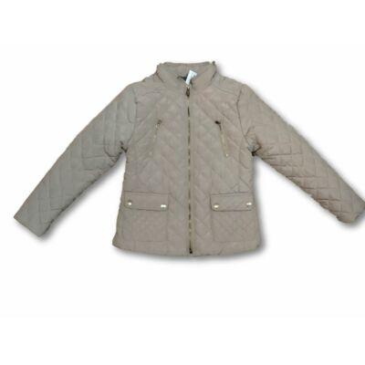 140-es drapp steppelet lányka átmeneti kabát - Zara