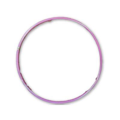 88 cm-es rózsaszín műanyag hullahopp karika