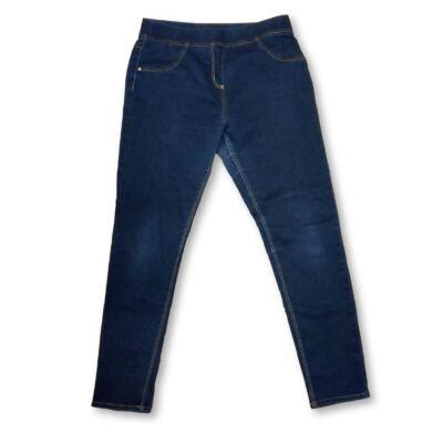 146-152-es kék leggings jellegű farmernadrág - George