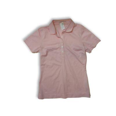 Női S-es rózsaszín sportpóló, golfpóló - Nike