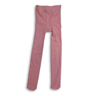 7-8 éves rózsaszín magában mintás harisnya