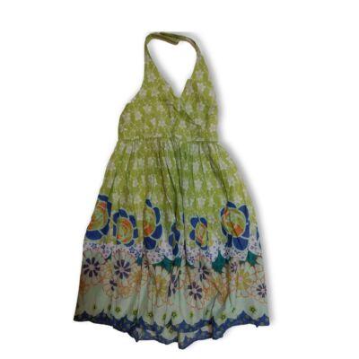 134-es zöld mintás nyári ruha - Next