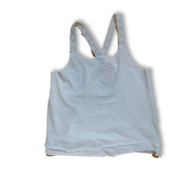 140-es fehér ujjatlan póló