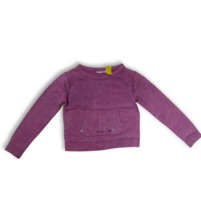 134-140-es lila pamut pulóver - Pepperts