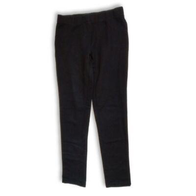 146-152-es fekete leggings jellegű pamutnadrág - Pepperts