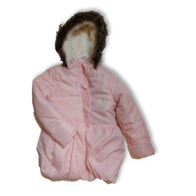 110-es csillogó rózsaszín télikabát - Kiki & Koko - ÚJ