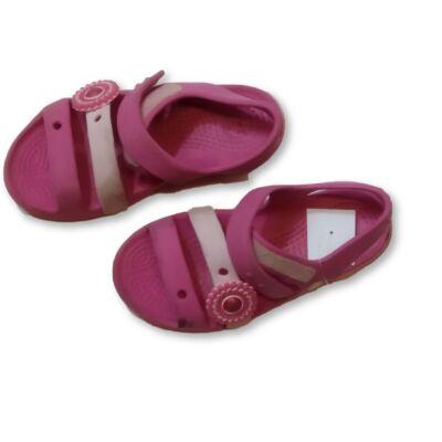 27-28-as rózsaszín gumiszandál - Crocs