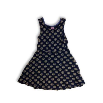 122-es kék pöttyös ruha - F&F