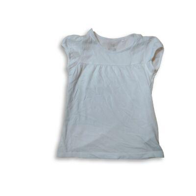 116-os fehér tunika jellegű póló - Kiki & Koko
