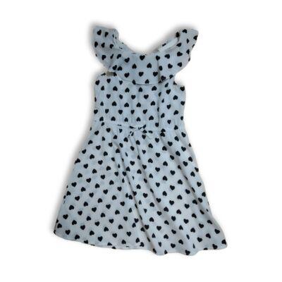 122-es fehér szivecskés ruha