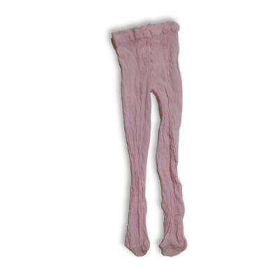 3-5 évesre rózsaszín nylon harisnya