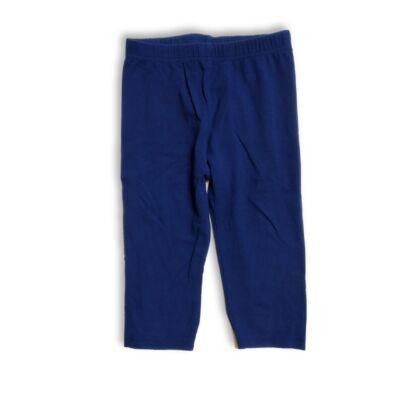 116-os kék térdig érő leggings - Kiki & Koko