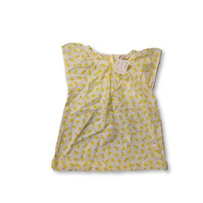 116-os citromos rövidujjú blúz - H&M