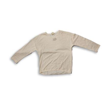 122-es fehér vékonyabb pamutfelső - Zara