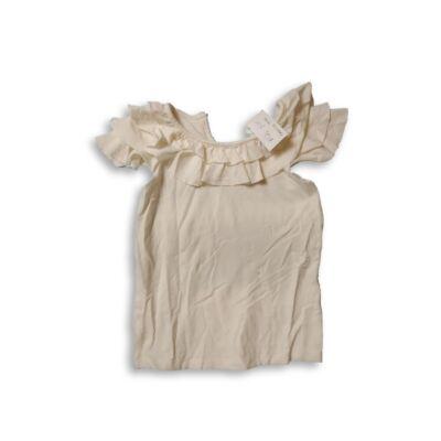 110-es fehér fodros póló - Marks & Spencer