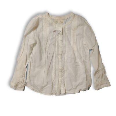 128-as fehér alkalmi hosszúujjú blúz - Zara