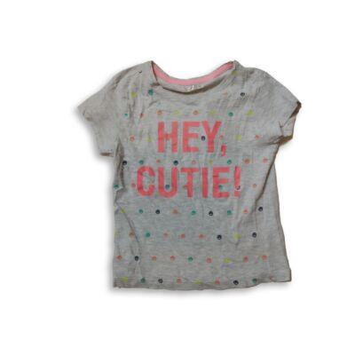 122-es szürke feliratos lány póló - Pepco