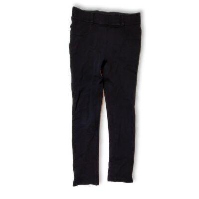 122-es fekete leggings jellegű pamutnadrág - H&M