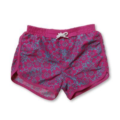 116-os pink-kék virágmintás short - F&F