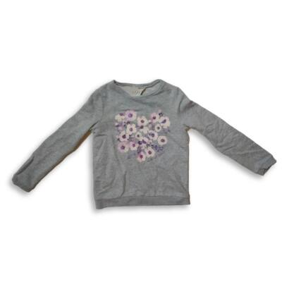 140-es szürke virágos pulóver - Oshkosh