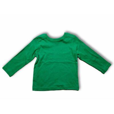 110-es zöld pamutfelső - Kiki & Koko - ÚJ