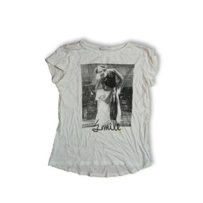 164-es fehér lányos póló - Zara