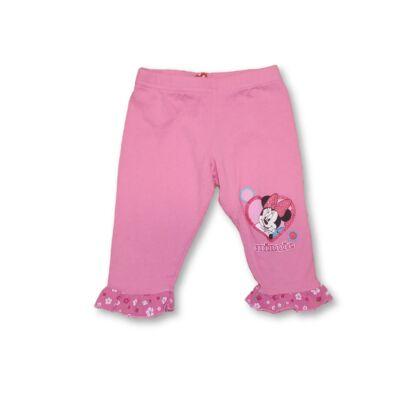 86-os rózsaszín pamut térdnadrág - Minnie Egér