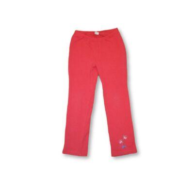122-es piros virágos nadrág - S.Oliver