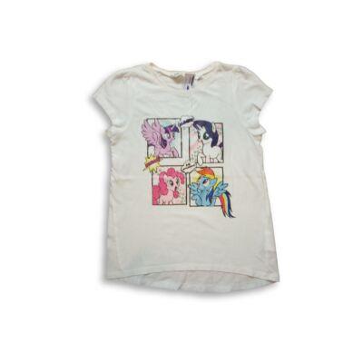 134-140-es fehér póló - My Little Pony