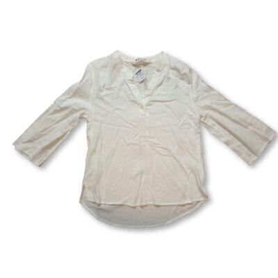 146-os fehér hosszú ujjú blúz - H&M