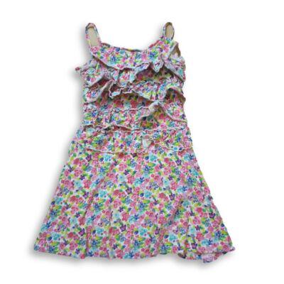 122-es virágos pántos ruha - Next