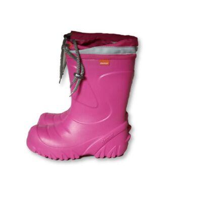 30-31-es pink habkönnyű bélelt gumicsizma - Demar