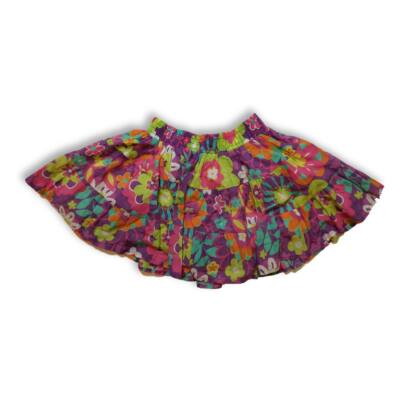 110-es színes virágos bőaljú szoknya - C&A