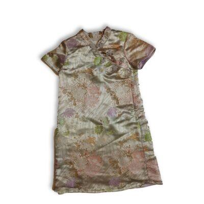 122-es ezüst mintás kimonó jellegű ruha - H&M