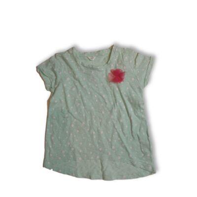 116-os zöld pöttyös póló - Pepco